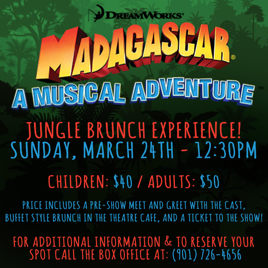 Madagascar: A Musical Adventure | Playhouse on the Square