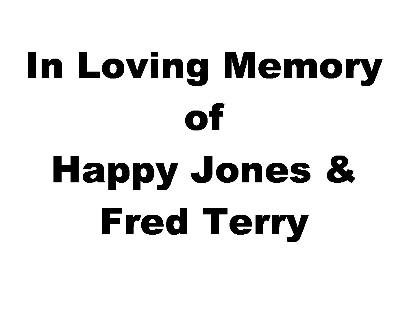 Jones and Terry